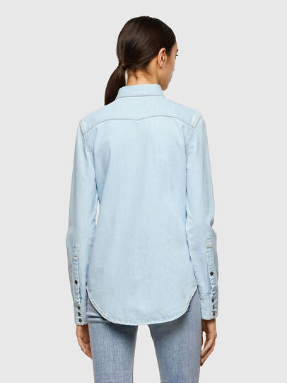 Diesel - DE-RINGY, Light Blue - Denim Shirts - Image 2