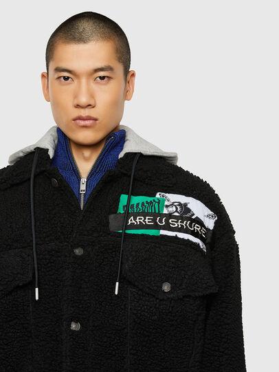 Diesel - W-GARY, Black - Winter Jackets - Image 3
