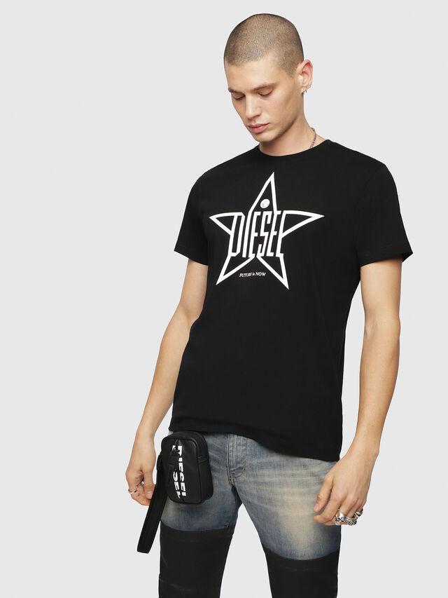 Diesel - T-DIEGO-YH, Black - T-Shirts - Image 1