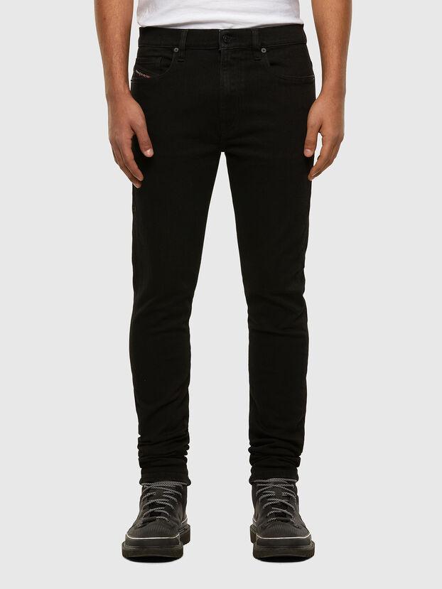 D-Amny 009HB, Black/Dark grey - Jeans