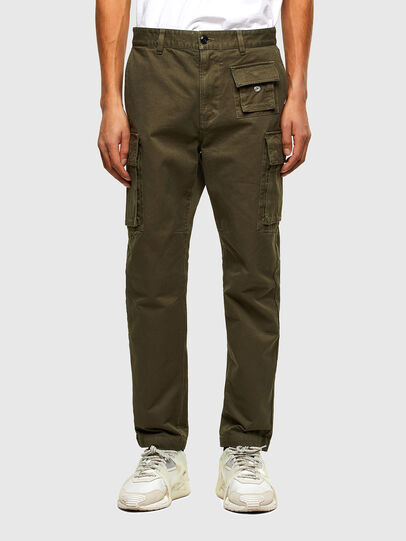 Diesel - P-COR, Military Green - Pants - Image 1
