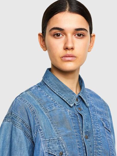Diesel - DE-RINGLE-MM-SP, Medium blue - Denim Shirts - Image 2