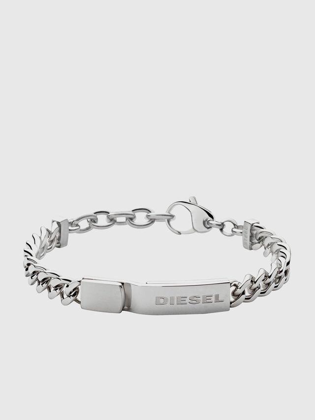 Diesel - BRACELET DX0966, Silver - Bracelets - Image 1