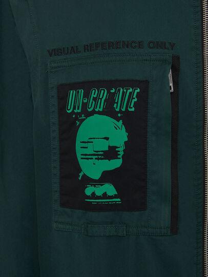 Diesel - P-LARRY, Dark Green - Pants - Image 6