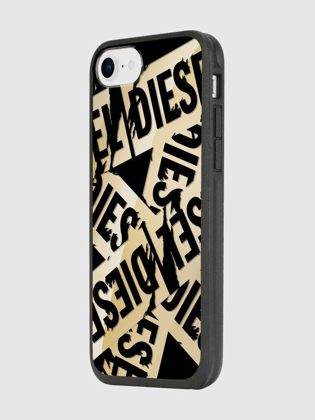 Diesel - MULTI TAPE GOLD/BLACK IPHONE 8/7/6S/6 CASE, Gold - Cases - Image 5