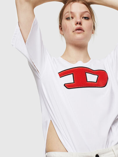Diesel - T-JACKY-I, Cream - T-Shirts - Image 4