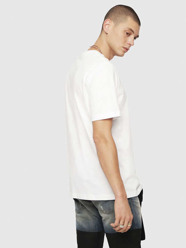 Diesel - T-JUST-YE, White - T-Shirts - Image 2