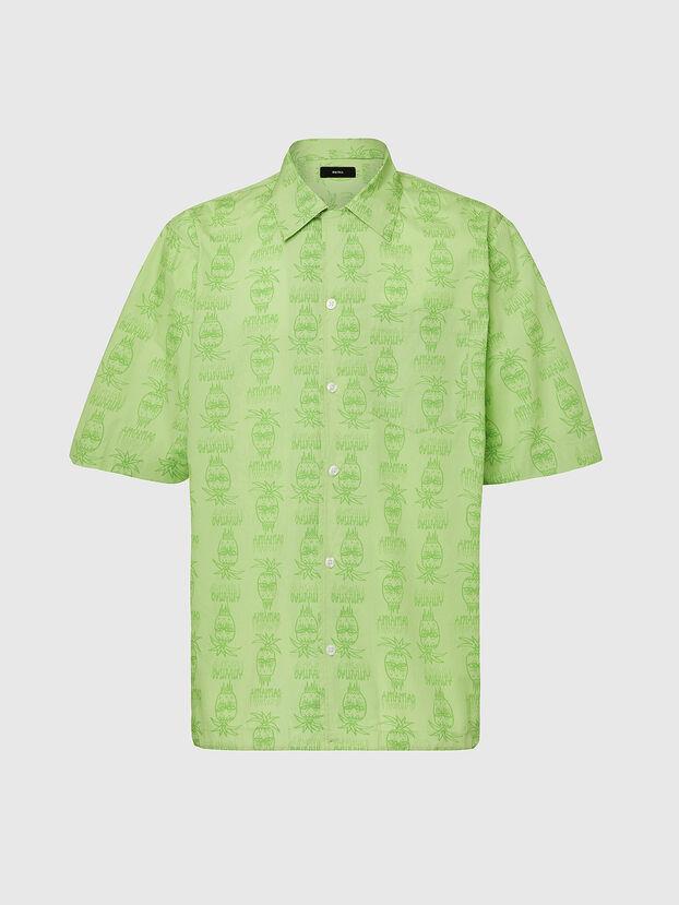 S-ROHAD-C, Green - Shirts