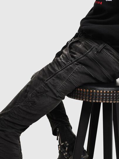 Diesel - CL-Krooley-T-CB JoggJeans 069PK, Black - Jeans - Image 3