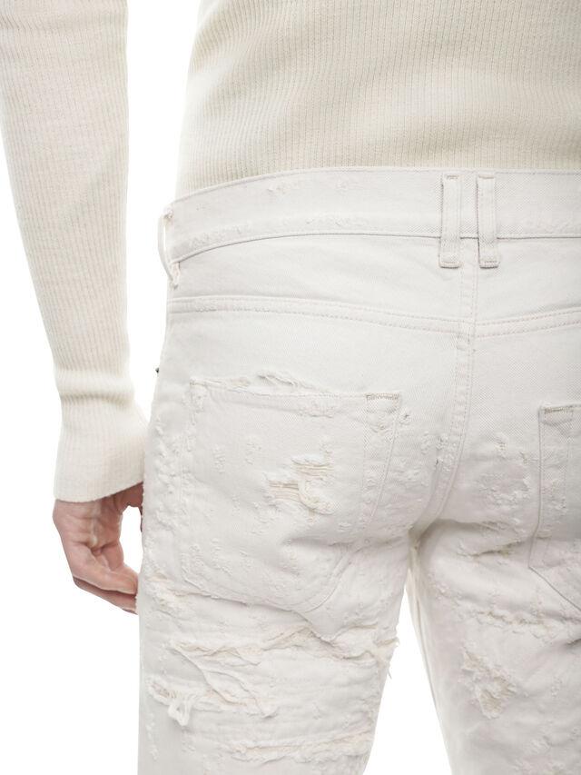 Diesel - TYPE-2813FS, White - Jeans - Image 4