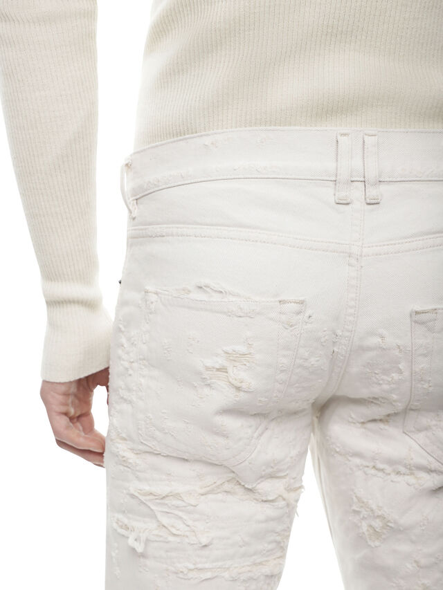 Diesel - TYPE-2813FS, White - Jeans - Image 4