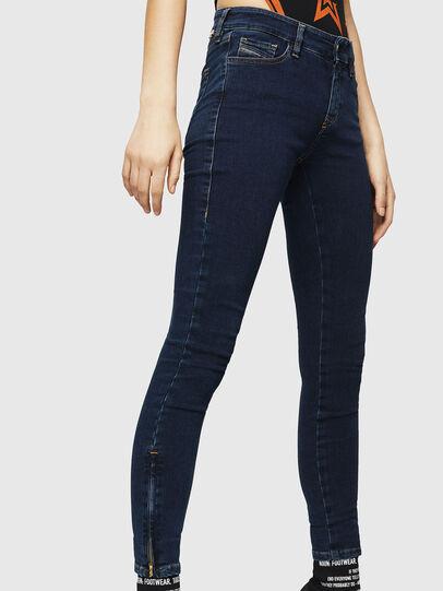 Diesel - Slandy Zip 083AM, Dark Blue - Jeans - Image 4