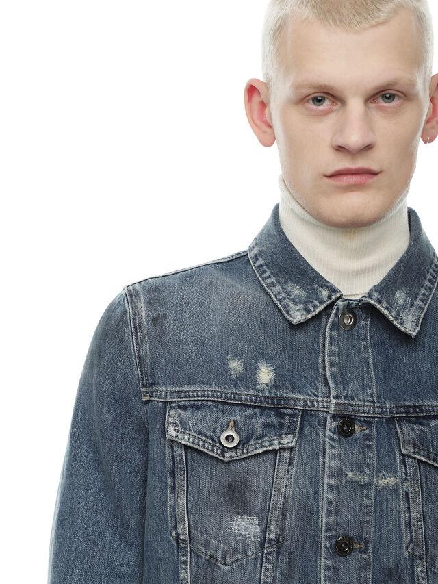 Diesel - JARTE, Blue Jeans - Jackets - Image 4