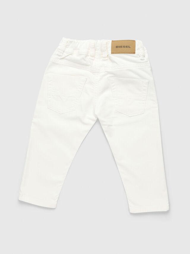 Diesel - KROOLEY-JOGGJEANS-B-N, White - Jeans - Image 2