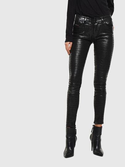 Diesel - Slandy 0094S, Black/Dark grey - Jeans - Image 1