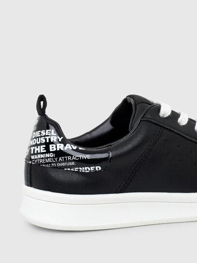 Diesel - SN LOW LACE 11 FULL, Black - Footwear - Image 4