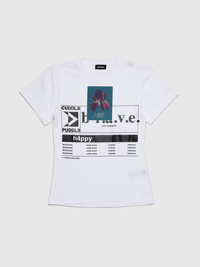 Diesel - TGODIE, White - T-shirts and Tops - Image 1