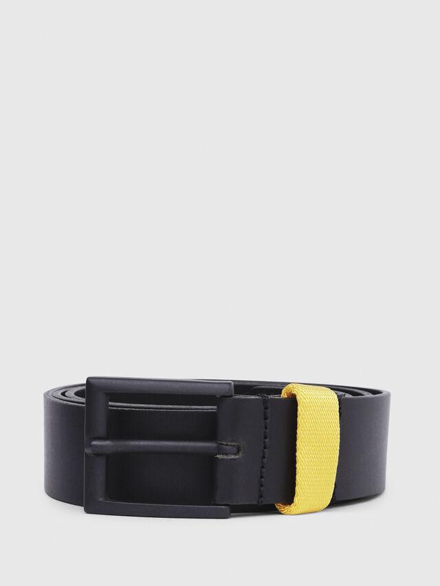Diesel - B-ALANO, Black/Yellow - Belts - Image 1