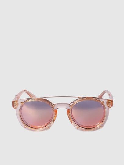 Diesel - DL0251, Pink - Sunglasses - Image 1