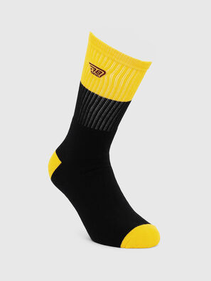 SKM-RAY, Black/Yellow - Socks