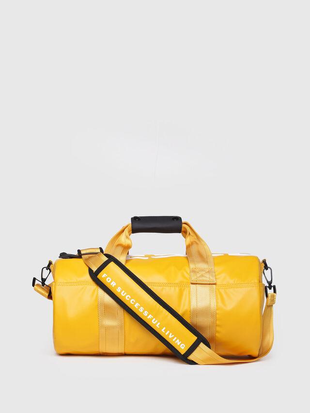 Diesel - F-BOLD DUFFLE FL, Yellow Ocher - Travel Bags - Image 1