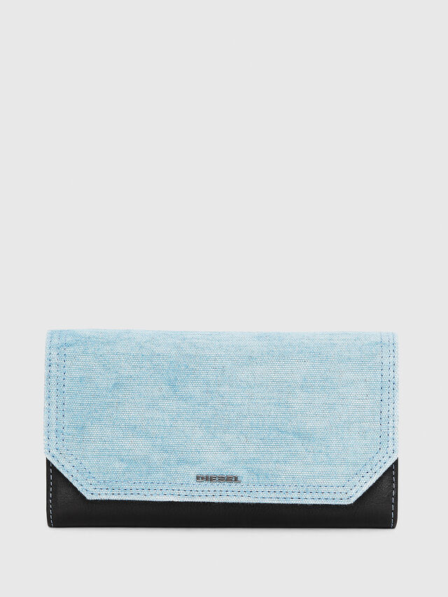 Diesel - GIPSI, Black/Blue - Small Wallets - Image 3