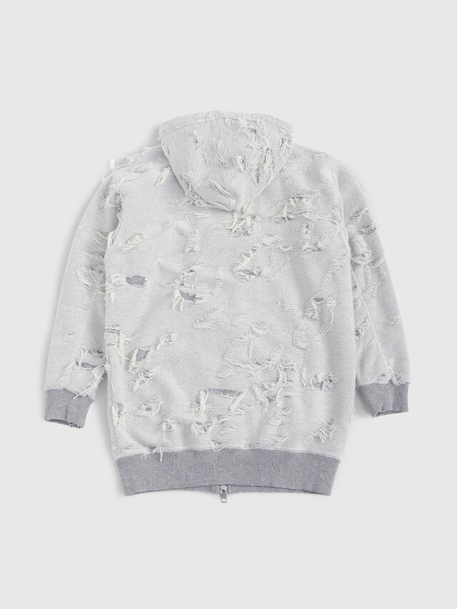 Diesel - SFMICH, Grey - Sweaters - Image 2