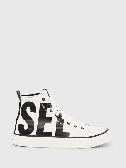 Diesel - S-ASTICO MC W, White/Black - Sneakers - Image 1