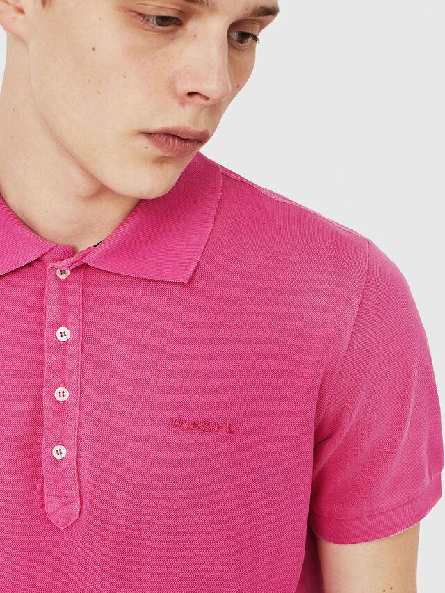 Diesel - T-NIGHT-BROKEN, Hot pink - Polos - Image 3