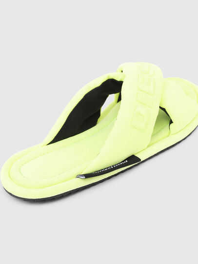 Diesel - SA-MERY X, Yellow Fluo - Slippers - Image 5