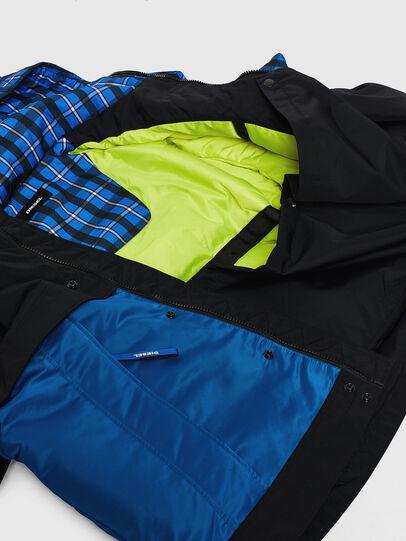 Diesel - W-HELBERT, Black/Blue - Winter Jackets - Image 8