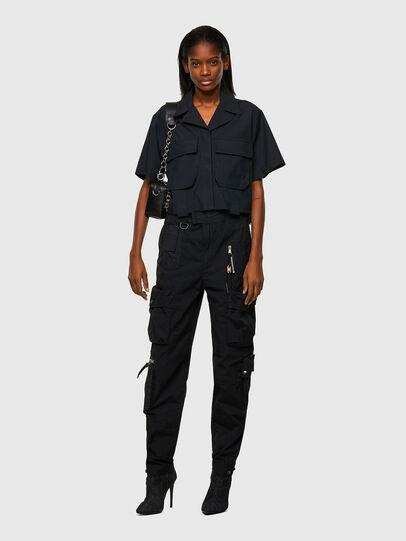 Diesel - C-ADARA-A, Black - Shirts - Image 5