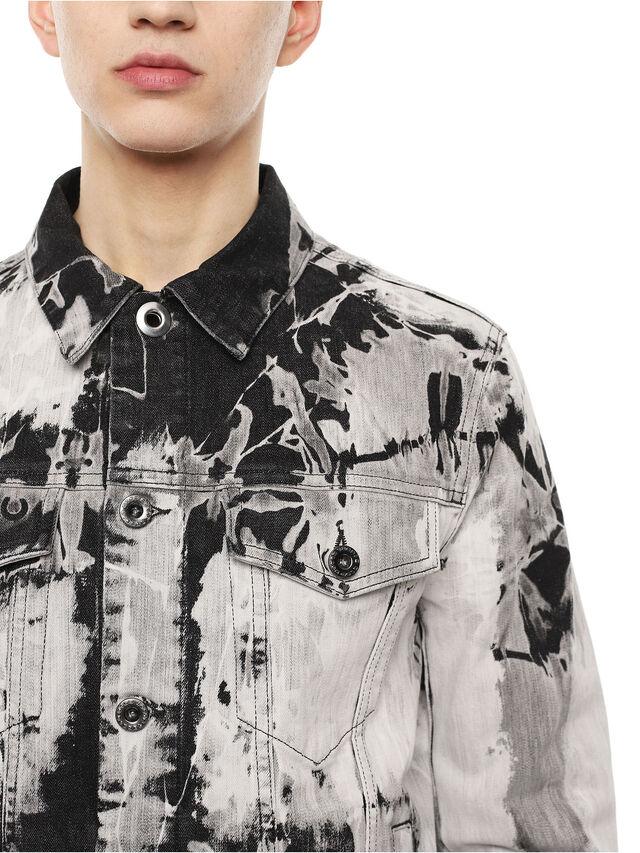 Diesel - JARTE, Black/White - Jackets - Image 4