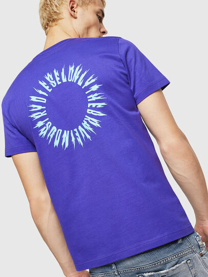 Diesel - T-DIEGO-A12, Violet - T-Shirts - Image 2