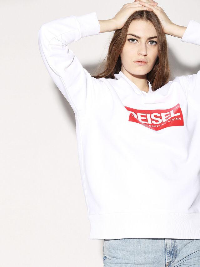 Diesel - DEIS-SGIRO, White - Sweaters - Image 7