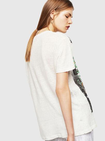 Diesel - T-DARIA-YB, White - T-Shirts - Image 2