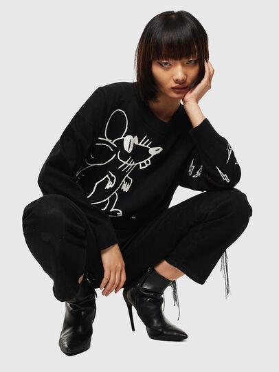 Diesel - CL-M-TESS, Black - Knitwear - Image 6