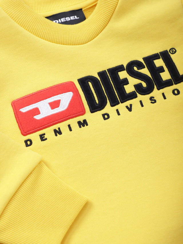 Diesel - SCREWDIVISIONB, Yellow - Sweaters - Image 3