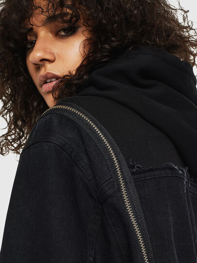 Diesel - DE-VYSE-SX, Black - Denim Jackets - Image 3