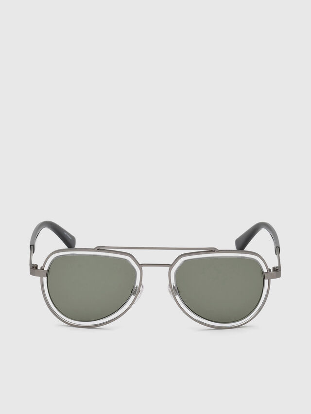 Diesel - DL0266, Black/Grey - Sunglasses - Image 1