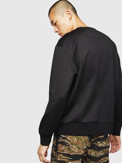 Diesel - S-BAY-MESH, Black - Sweaters - Image 2