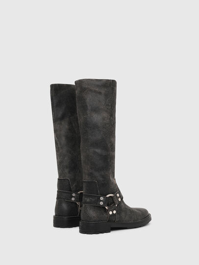 Diesel - D-THROUPER MB W, Black - Boots - Image 3