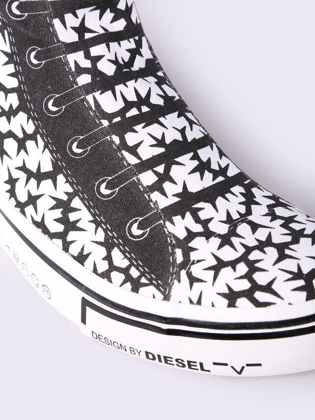 S-DIESEL IMAGINEE MID SLIP-ON, White/Black