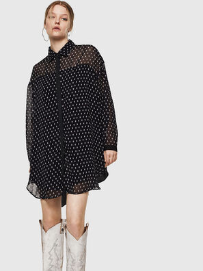 D-OLYZZ, Black/White - Dresses