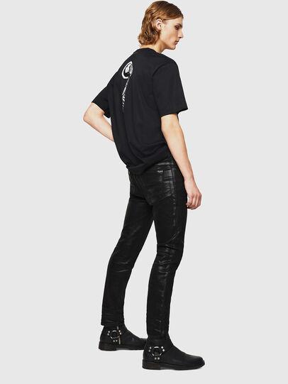 Diesel - TEORIALE-X1, Black - T-Shirts - Image 5