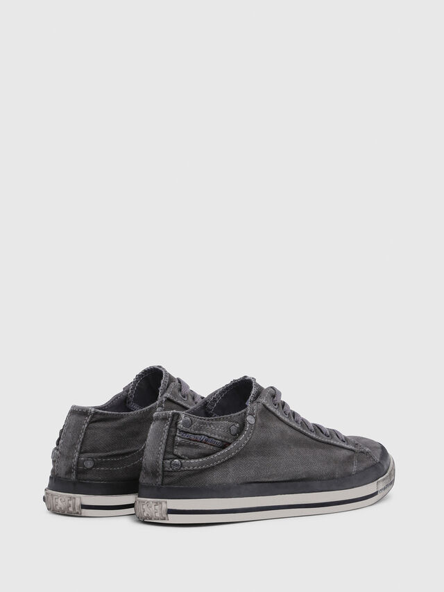 Diesel - EXPOSURE IV LOW  W, Metal Grey - Sneakers - Image 3