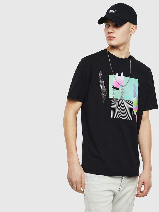 T-JUST-T25, Black - T-Shirts