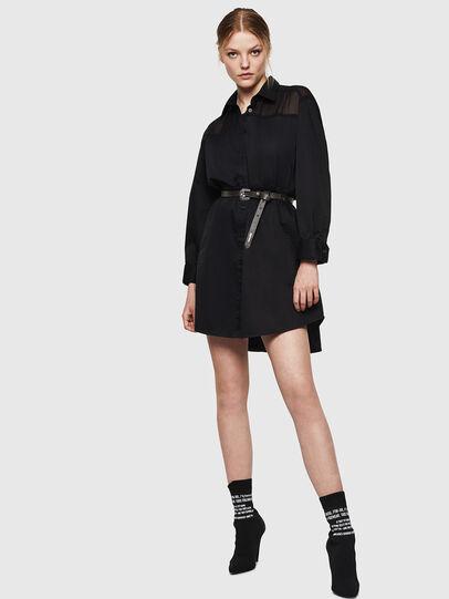 Diesel - D-FLOWY, Black - Dresses - Image 6