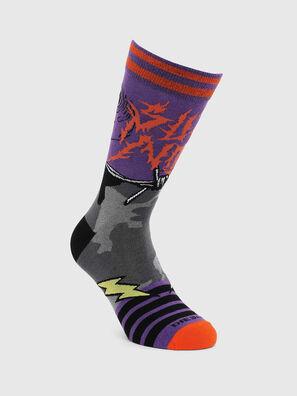 SKM-RAY, Violet - Socks