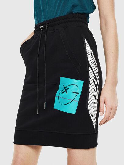 Diesel - O-NYUSHA-C, Black - Skirts - Image 1
